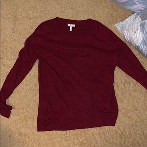 Joie size S maroon sweater